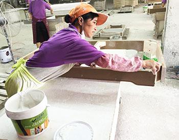 汉林水性木器腻子施工厂