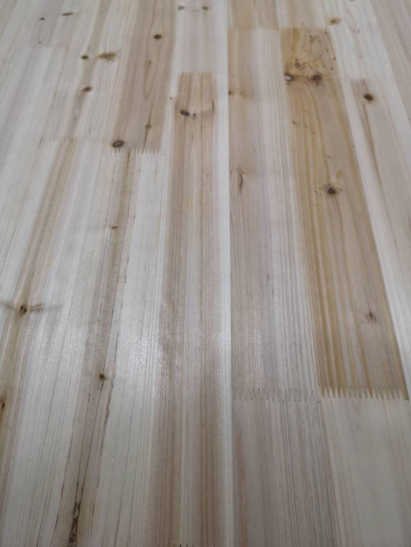 杉木指接板结疤怎么补,汉林水性修补腻子效果不错!