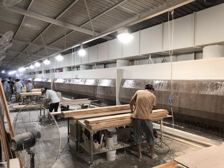 木工家具批灰填缝,取代油性腻子用汉林水性腻子效果更省心!