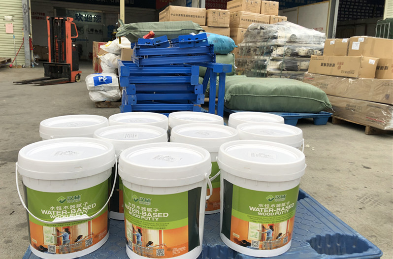 专业木器腻子厂家,家具修补木器打底选汉林水性腻子